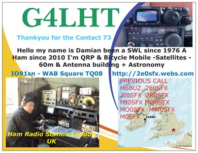 QSL image for G4LHT