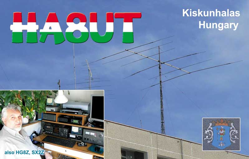 QSL image for HA8UT