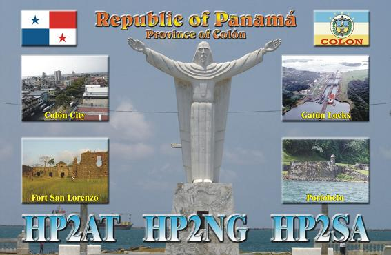 QSL image for HP2AT