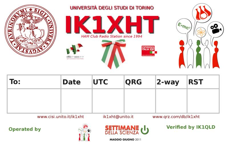QSL image for IK1XHT