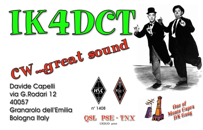 QSL image for IK4DCT