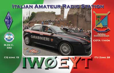 QSL image for IW0EYT