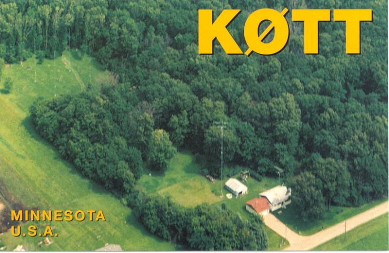QSL image for K0TT