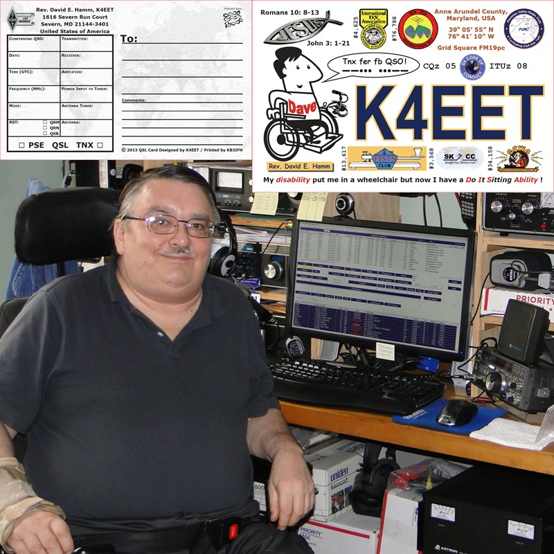 QSL image for K4EET