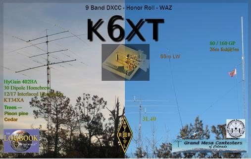 QSL image for K6XT