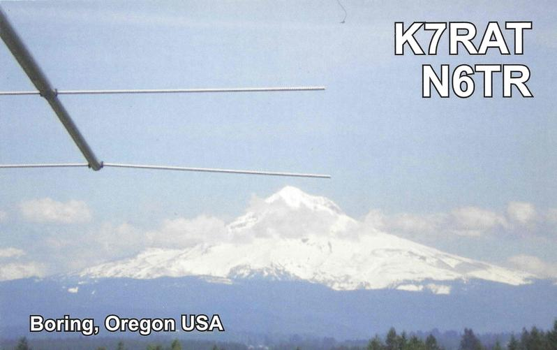 QSL image for K7RAT