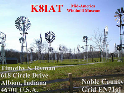 QSL image for K8IAT