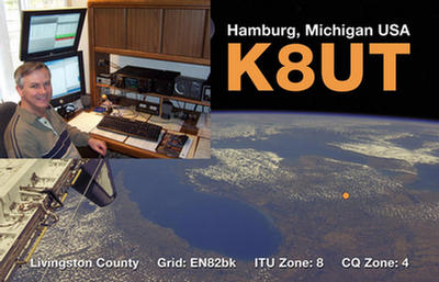 QSL image for K8UT