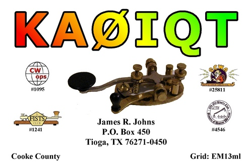 QSL image for KA0IQT
