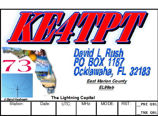 QSL image for KE4TPT