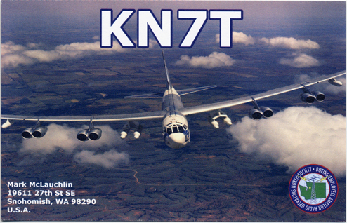 QSL image for KN7T