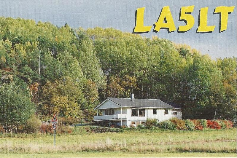 QSL image for LA5LT
