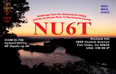 QSL image for NU6T