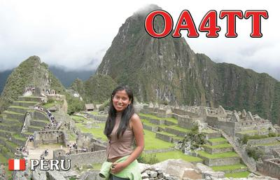 QSL image for OA4TT