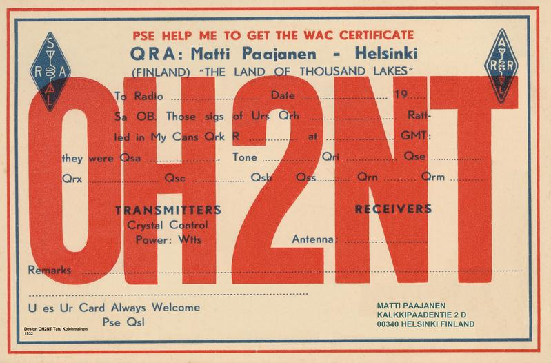 QSL image for OH2NT