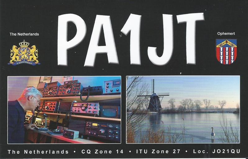 QSL image for PA1JT