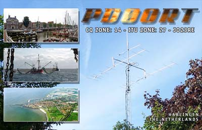 QSL image for PD0ORT