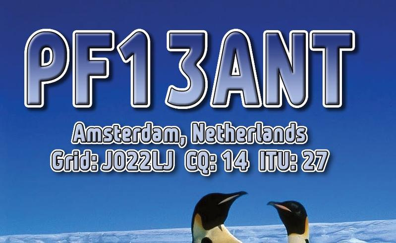 QSL image for PF13ANT