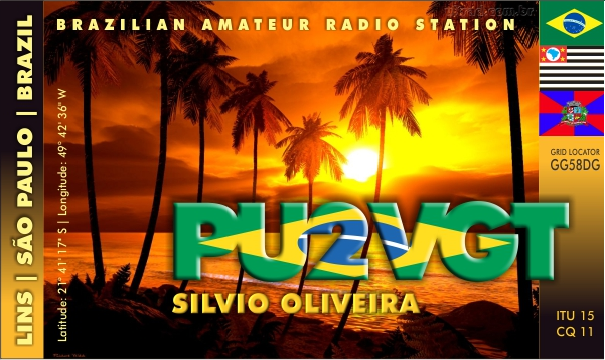 QSL image for PU2VGT