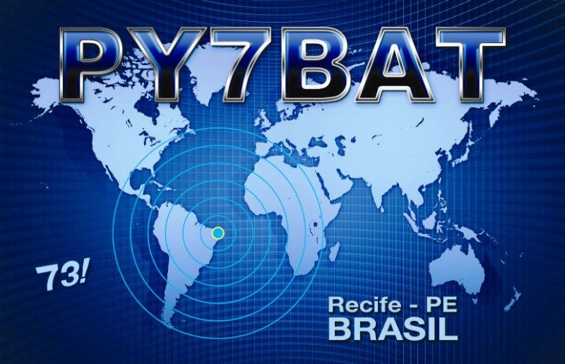 QSL image for PY7BAT