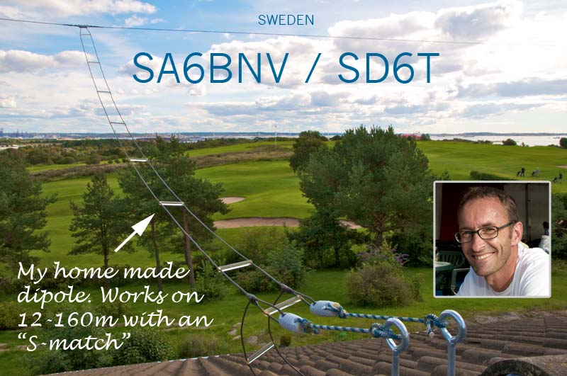 QSL image for SD6T