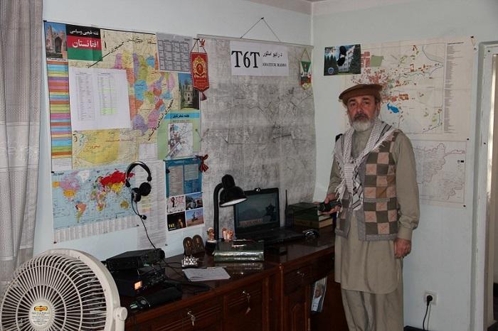 Afghanistan, Kabul, radio cabin, window to the world / Афганистан, Кабул, радиорубка, окно в мир / افغانستان٬ کابل٬ د راډیو د اماتور ځای٬ جهان ته کړکۍ