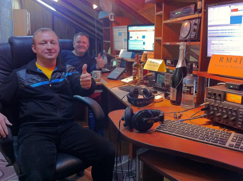 RM4i Team Ready for CQWW CW 2014 as M/S UA4HTT & UA4HOX
