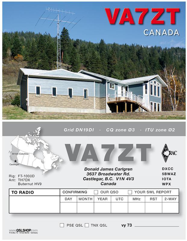 QSL image for VA7ZT