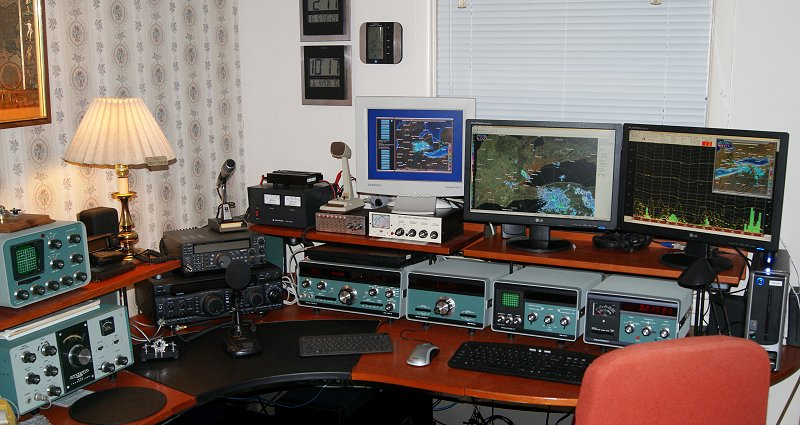 Amateur radio station frequencies