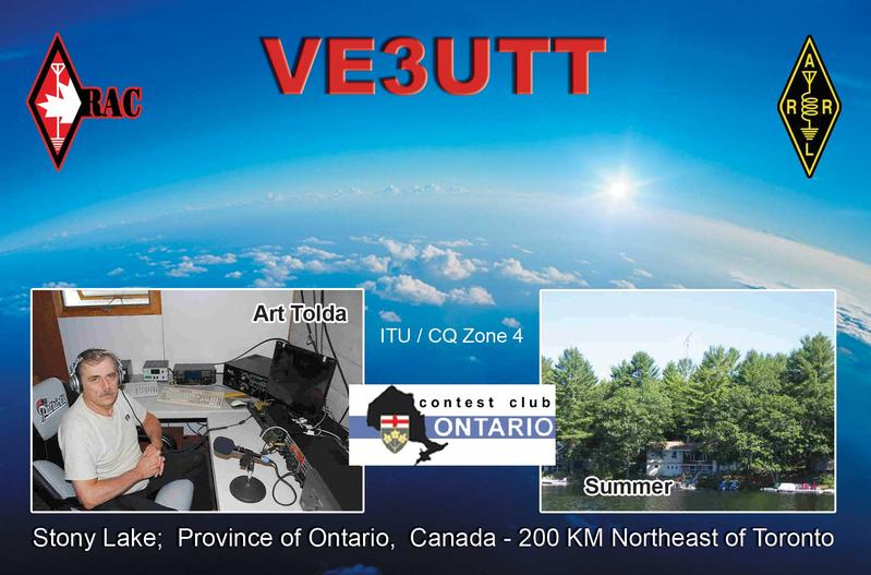 QSL image for VE3UTT