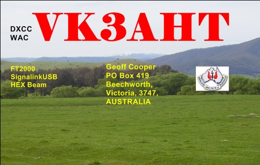 QSL image for VK3AHT