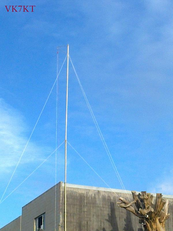 HF Multiband Inverted V with wire dipoles