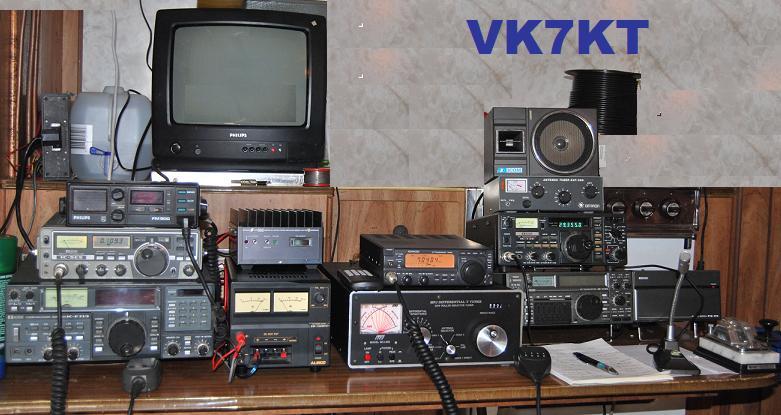 QSL image for VK7KT
