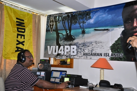 VU2PTT Op at VU4PPB Expedition