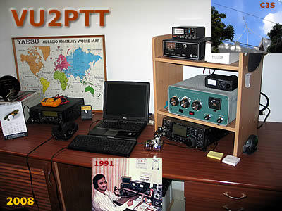 VU2PTT shack in 2008