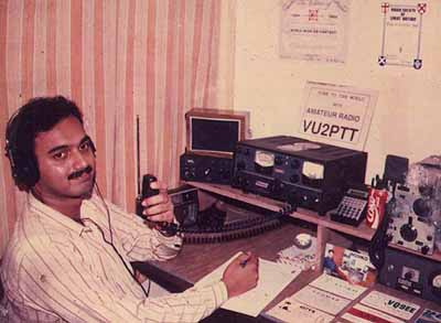 VU2PTT winning CQWW SSB 20m Low Popwer Catgory 1991 - #1 World