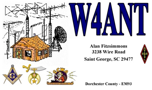 QSL image for W4ANT