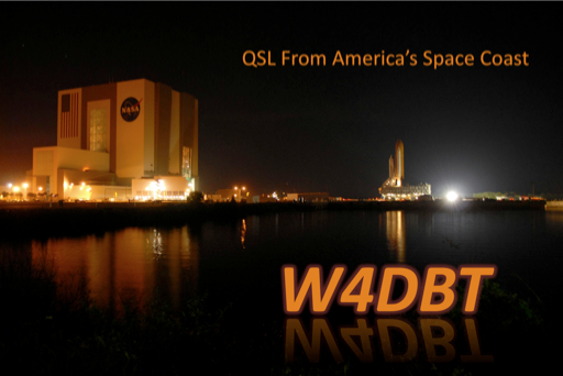 QSL image for W4DBT