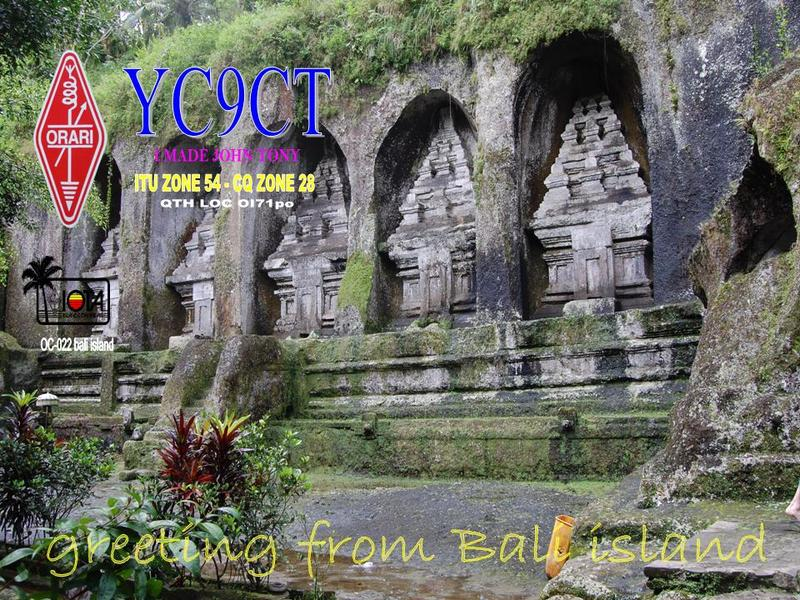 QSL image for YC9CT
