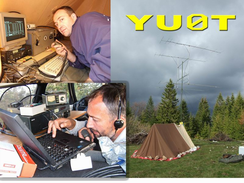 QSL image for YU0T