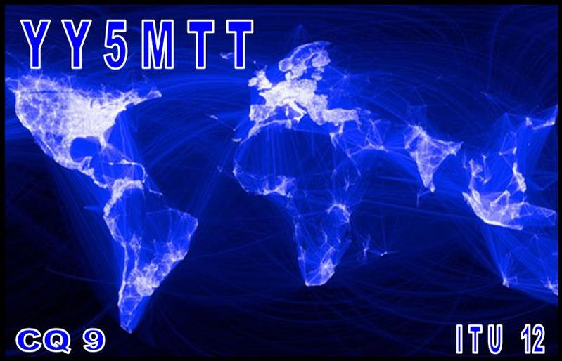 QSL image for YY5MTT