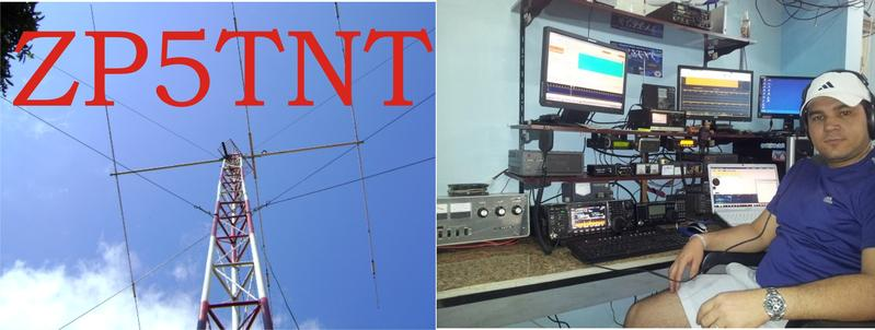 QSL image for ZP5TNT