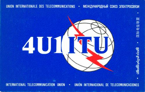 QSL image for 4U1ITU