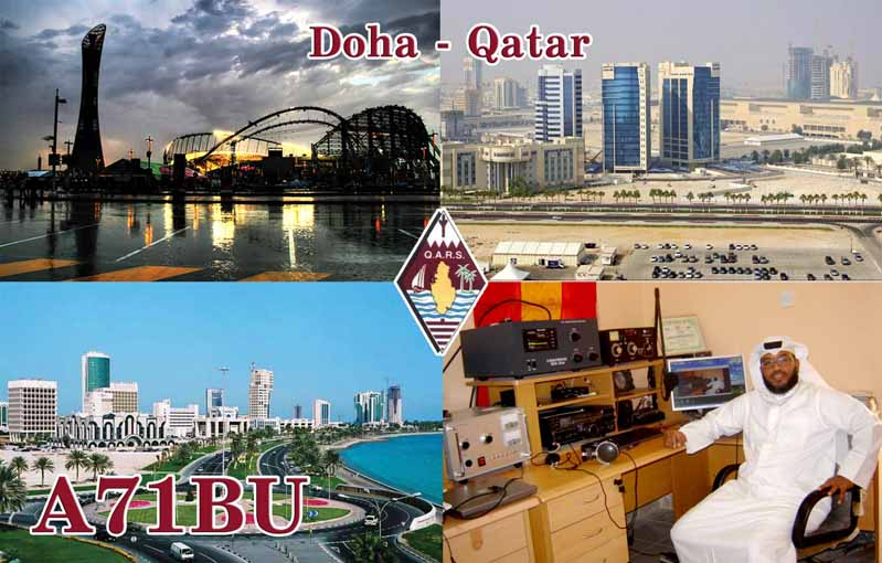 QSL image for A71BU