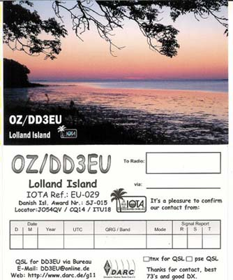 QSL image for DD3EU