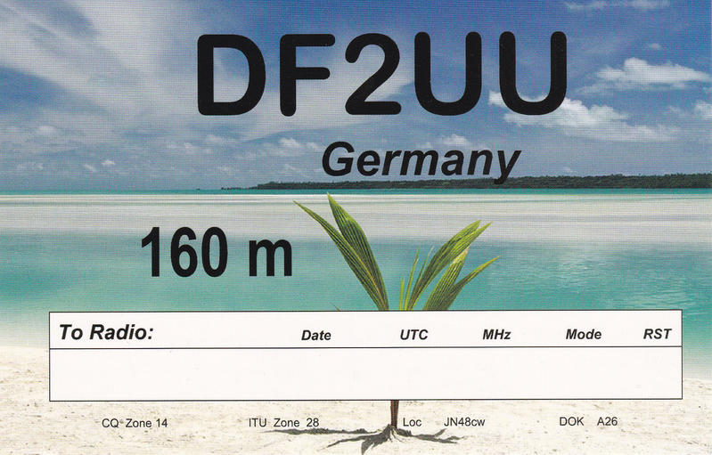QSL image for DF2UU