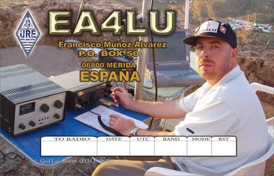 QSL image for EA4LU