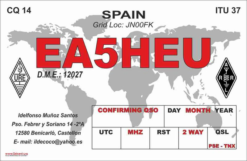 QSL image for EA5HEU