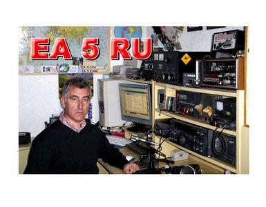 QSL image for EA5RU