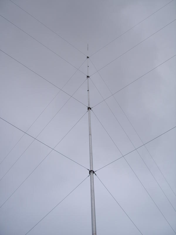 18m spiderbeam mast + additional tubing 2m